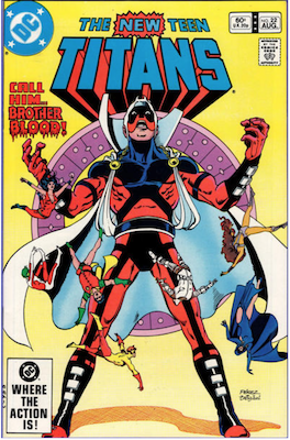 The New Teen Titans #22. Click for values.