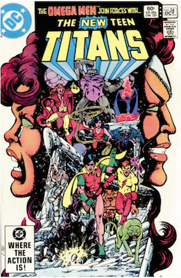 The New Teen Titans #24. Click for values.