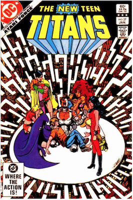 The New Teen Titans #27. Click for values.