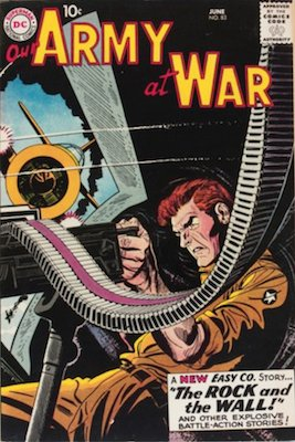 Our Army at War #83 (Jun 1959): Origin and First Appearance, Sgt. Rock. Genuinely rare for the era, especially in nice condition. Click for values
