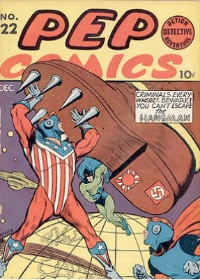Pep Comics #22: First Appearance of Archie. Click for current values.