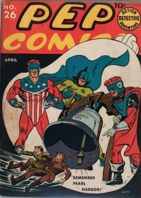 PEP Comics #26. Click for current values.