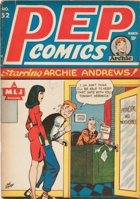 PEP Comics #52: Suzie stories begin. Click for value
