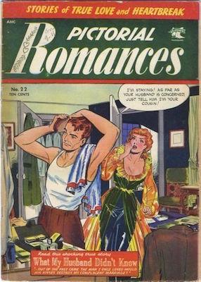 Pictorial Romances #22. Click for values