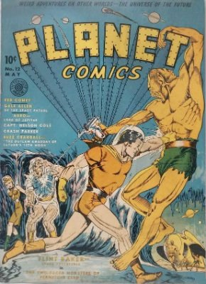 Click for value of Planet Comics #12