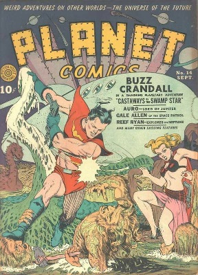 Click for value of Planet Comics #14