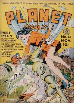 Click for value of Planet Comics #15