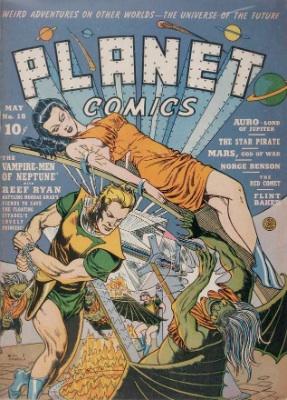 Click for value of Planet Comics #18