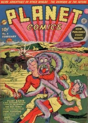 Planet Comics #2 The second in the series is definitely not as exciting a find as #1, but still cool. Click for values