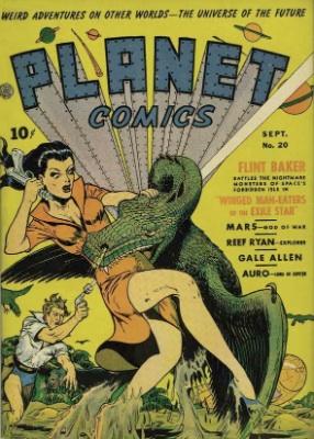 Click for value of Planet Comics #20
