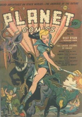Click for value of Planet Comics #21