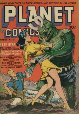 Click for value of Planet Comics #23