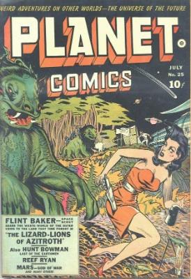 Click for value of Planet Comics #25