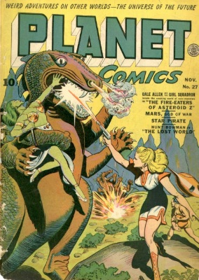 Click for value of Planet Comics #27