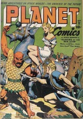 Click for value of Planet Comics #28