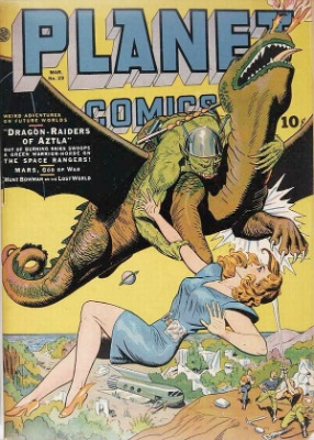 Click for value of Planet Comics #29