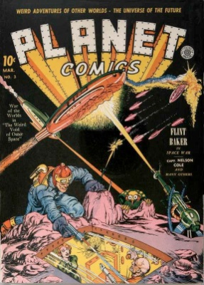 Click for current market value of Planet Comics #3