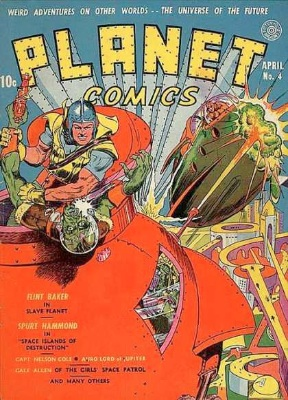 Click for current market value of Planet Comics #4