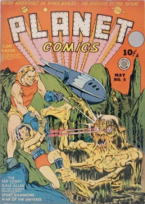 Click for current market value of Planet Comics #5