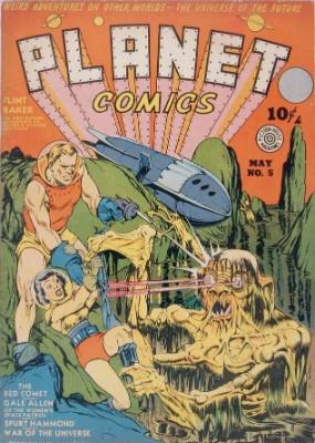 Click for current market value of Planet Comics #5