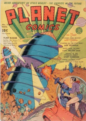 Click for value of Planet Comics #9