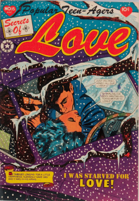Popular Teen-Agers #15: L. B. Cole cover. Click for values