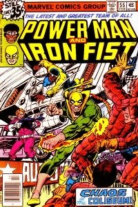 vintage comic books from the Bronze age: Power Man and Iron Fist
