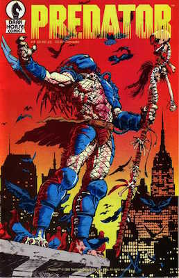 Predator #1 (1989): 1st Appearance of Predator in comics. Click for value