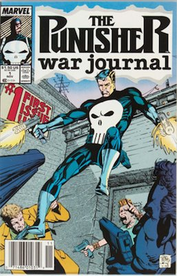 Punisher: War Journal #1 (Marvel, 1988): A deeply personal and refreshing Punisher comic. Click for values