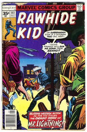 RARE! Rawhide Kid #141 Marvel 35 Cent Price Variants