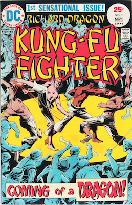Bronze Tiger: First Appearance, Richard Dragon, Kung Fu Fighter #1. Click for value