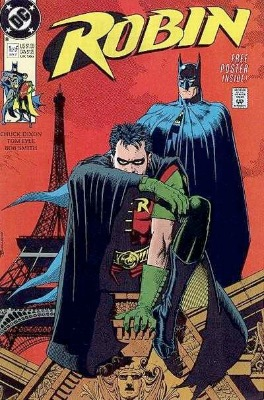 Origin and First Appearance, Lynx, Robin #1, DC Comics, 1991. Click for value