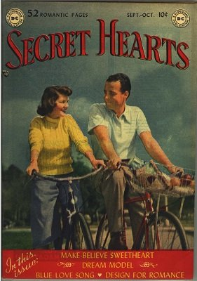 Secret Hearts #1: First issue of a long running series. Click for values