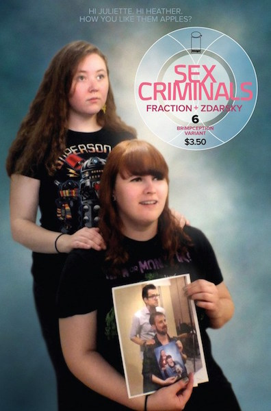 #36: Sex Criminals 6 Brimception Variant (2014). Click for values