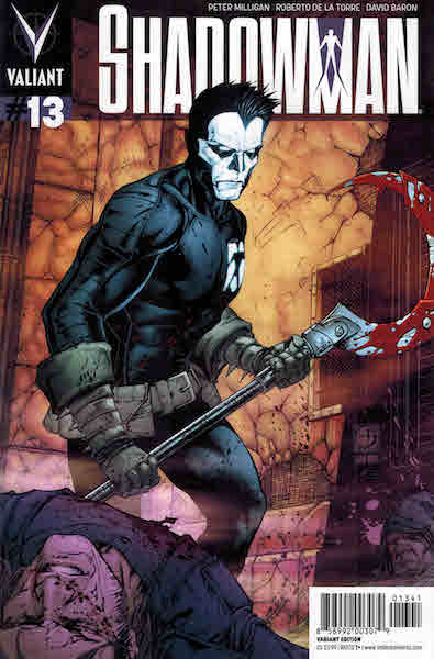 #54: Shadowman 13 Davis Variant (2013). Click for values
