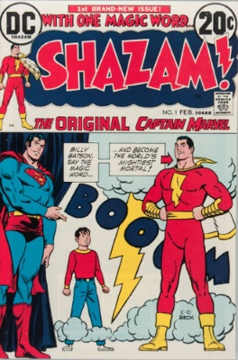 DC's renamed Shazam! was relaunched in the 1970s