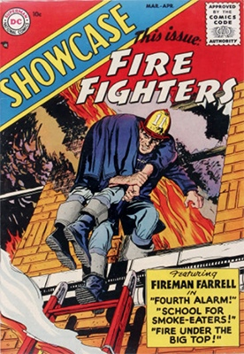 Showcase #1 (April 1956): Fireman Farrell? Click for values