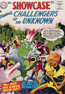 Showcase #11: Challengers of the Unknown appearance. Click for values