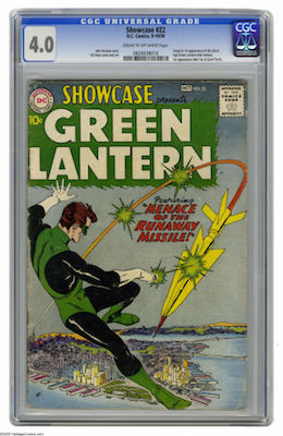 Try to find a nicely presenting copy of Showcase #22 in at least CGC 4.0. It's expensive, though... Click to buy a copy