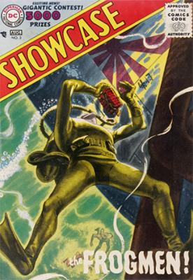 Showcase Comic #3: The Frogmen. Click for values