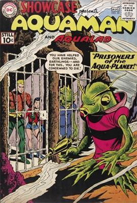 Showcase #33: Aquaman and Aqualad appearances. Click for values