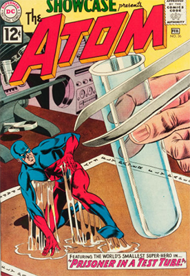 Showcase #36, third Silver Age appearance of The Atom. Click for values