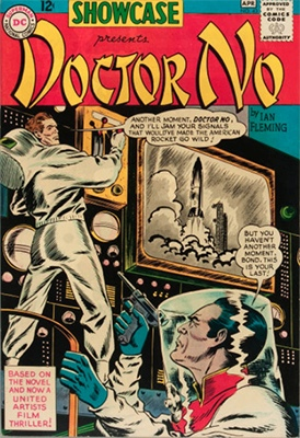 Showcase #43 (March 1963) Dr. No, featuring James Bond. Click for values