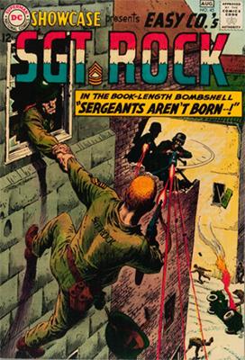 Showcase #45: Sgt. Rock origin retold. Click for values