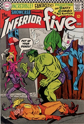 Showcase #63: Inferior Five appearance. Click for values