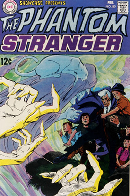 Showcase #80 (November 1968): First Silver Age appearance of the Phantom Stranger. Click for values