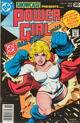 Showcase #97 (February 1978): Power Girl. Click for values