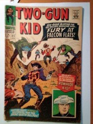 Silver Age Comics I Found in Storage: Two-Gun Kid #85 value?