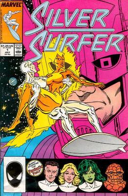 100 Hot Comics #22: Silver Surfer 1, Origin Issue. Click to order a copy
