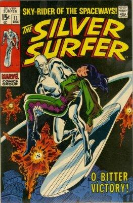 Silver Surfer #11, December, 1969. Click for value